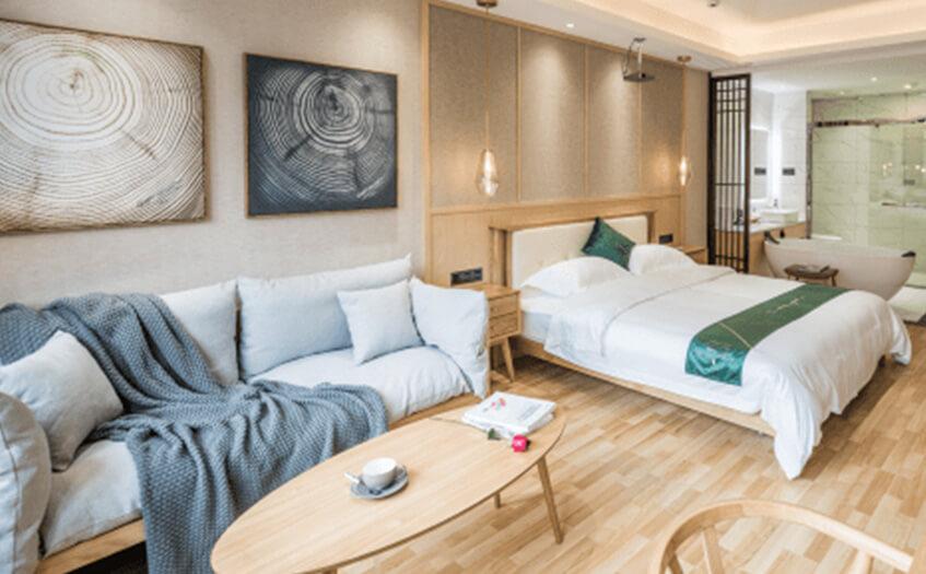 宾馆20个房间投资预算大概需要多少钱?
