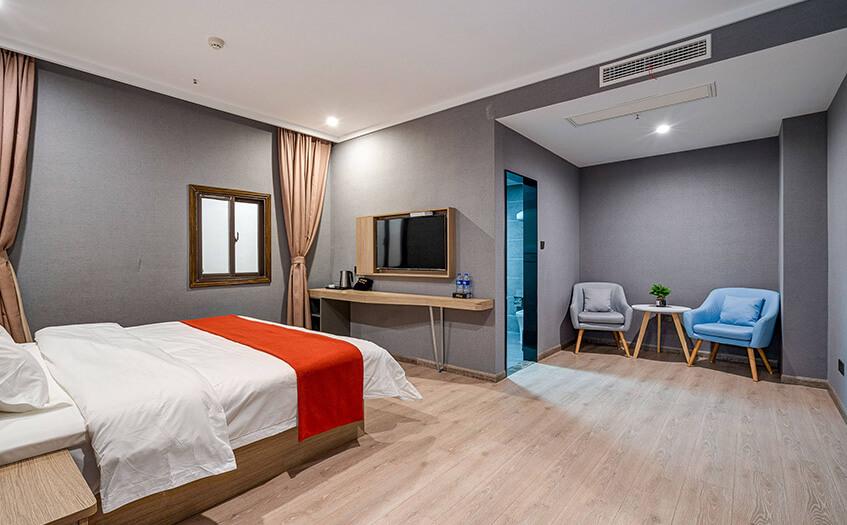 如家宾馆加盟费多少钱,开一间宾馆的总