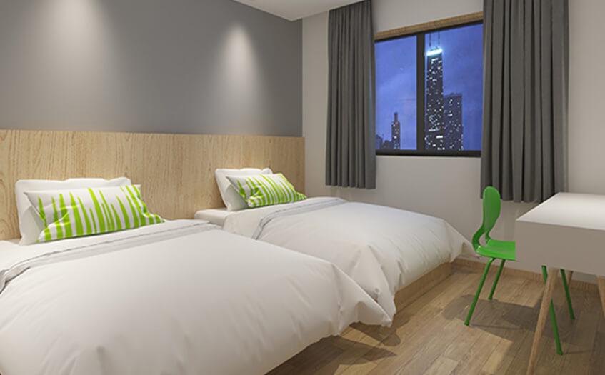 投资一个宾馆需要多少资金,做宾馆投资