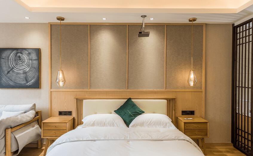 投资一个40间房宾馆要多少面积
