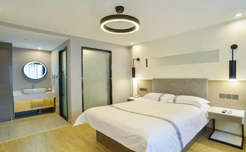 开宾馆的利润大概处于什么水平上?